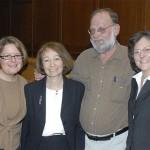 Beth Ferri, Nancy Mudrick, Steven Taylor, and Arlene Kanter
