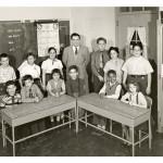 Burton Blatt in the classroom